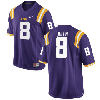 Men's  Game Purple LSU Tigers Alumni Jersey | Patrick Queen